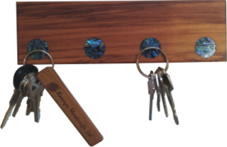 Magnetic Key Holder & Key Rings