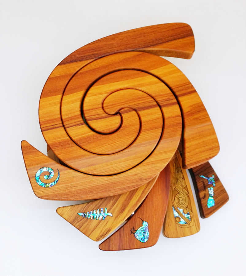 3 in 1 Tablemat - Paua Inlay