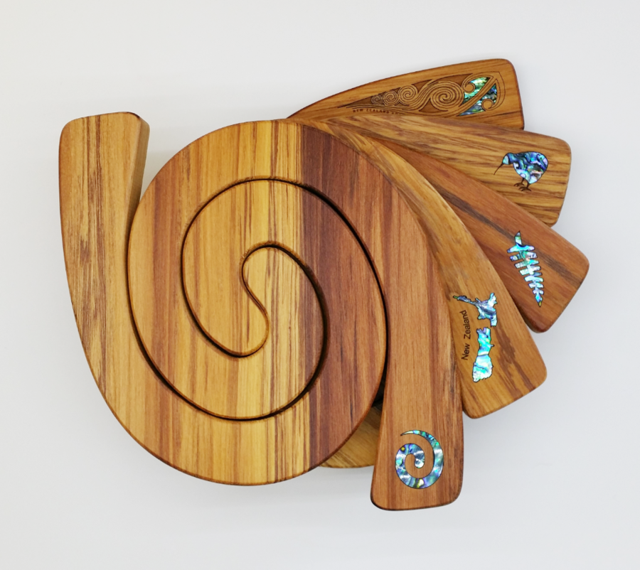2 in 1 Tablemat - Paua Inlay