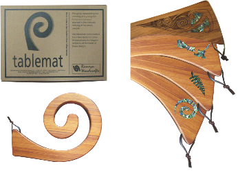 Single Tablemat - Paua Inlay