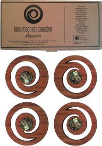 Magnetic Coasters set of 4